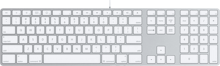 Differences Between British And Us Apple Keyboards